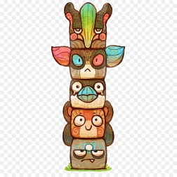 kisspng-totem-pole-illustration-art-drawing-oo-totem-by-louivi-on-deviantart-5baa58bbc457a8.0391895615378904918042