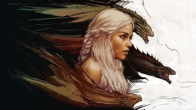 Khaleesi-y-Dragones-Juego-De-Tronos-cartel-decoraci-n-del-hogar-Impresi-n-de-la-Lona.jpg_640x640