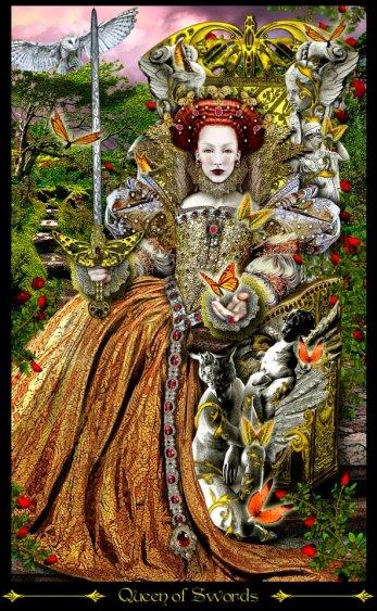 ta illuminati reina de espadas