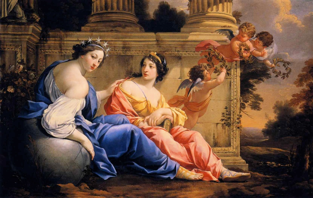 Simon_Vouet_-_The_Muses_Urania_and_Calliope